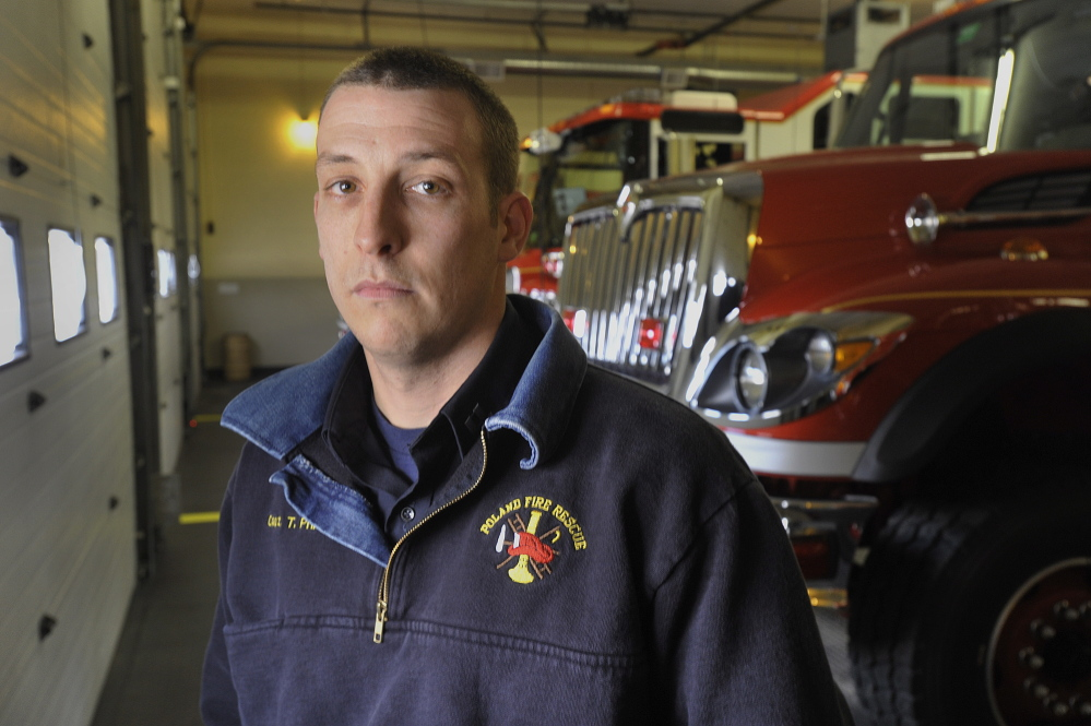 Poland Fire and Rescue Department Capt. Tom Printup says he was shocked when he learned his classmate and friend had been killed.