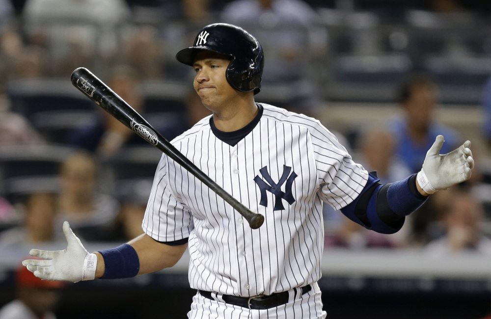 Alex Rodriguez's drug suspension was to 162 games, potentially sidelining him for the entire 2014 season. The New York Yankees third baseman was suspended for 211 games on Aug. 5 by baseball Commissioner Bud Selig. The penalty was given for alleged violations of the sport's drug agreement and labor contract and followed Major League Baseball's investigation of the Biogenesis of America anti-aging clinic, which was accused of distributing banned performance-enhancing drugs.