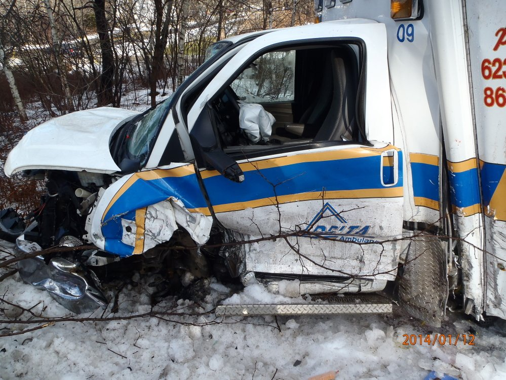 Injuries: Five people were taken to hospitals following a crash Sunday morning on Route 17 in Windsor involving a Delta Ambulance vehicle and an SUV.