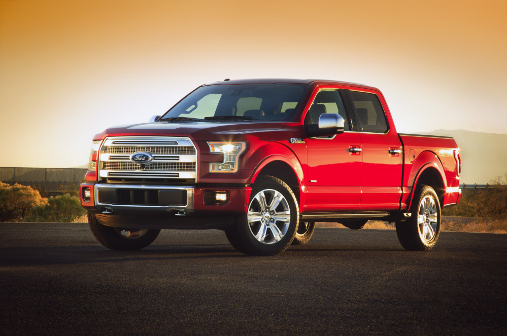 Ford unveils a new F-150 built almost entirely out of aluminum on Monday. The lighter material, which shaves as much as 700 pounds off the truck, will save fuel and make the truck more nimble without sacrificing power, Ford says.