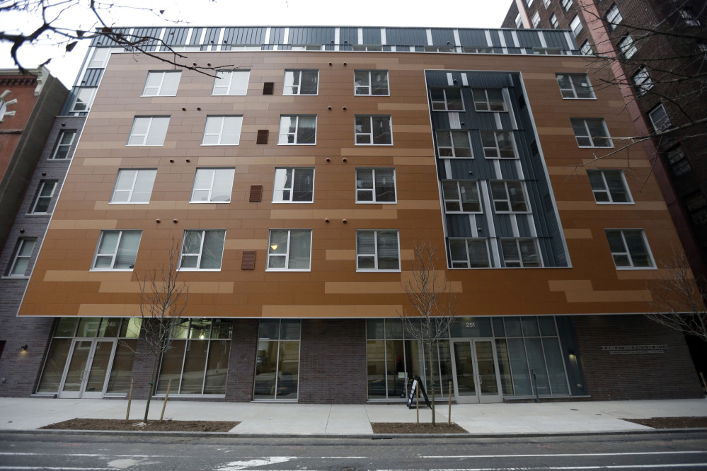 The John C. Anderson apartments, an affordable housing complex aimed at gay seniors in Philadelphia. It's one of the only such buildings in the nation, serving an untapped market that experts say will continue to grow as the population ages.
