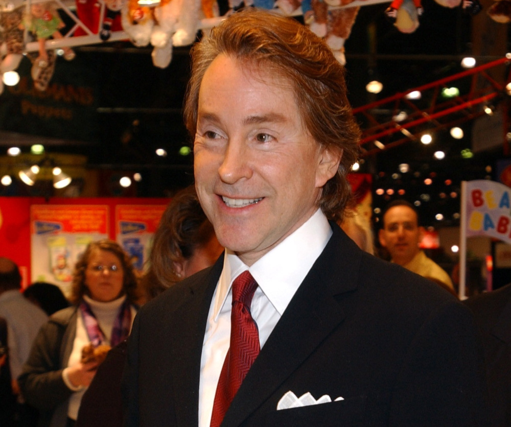 Ty Warner, Beanie Baby creator and chief executive of Ty Inc., in a 2003 photo.