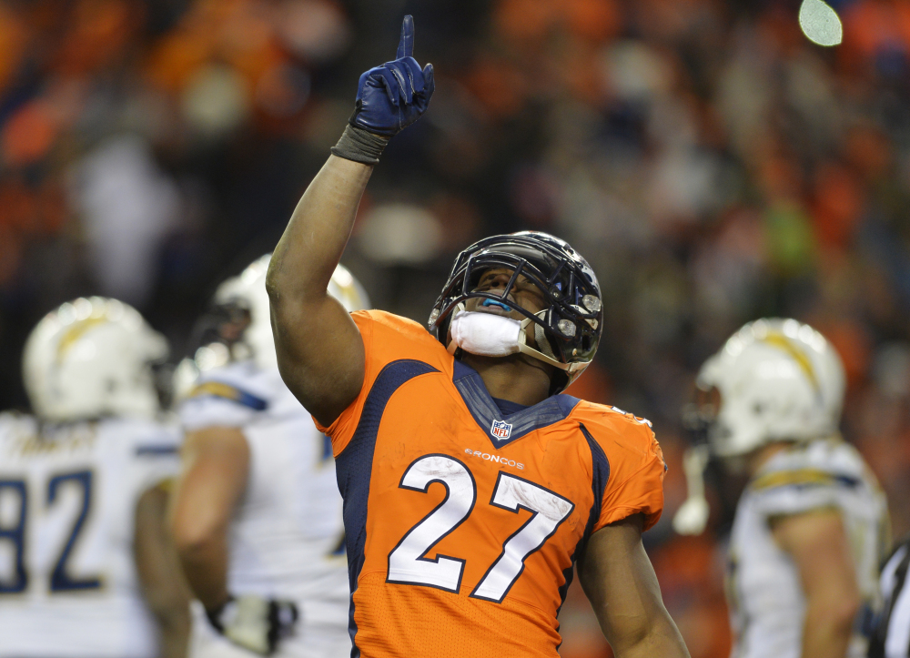 BACK TO STAY: Denver Broncos running back Knowshon Moreno was relegated to the scout team after fumbling in a game on Sept. 12, 2012. Since his return, Moreno has carried the ball 479 times without a fumble.