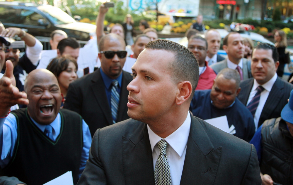 New York Yankees' Alex Rodriguez has sued the players' union in connection with his drug suspension.