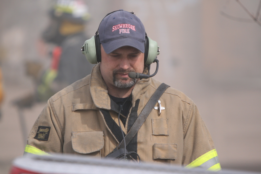 New Chief: Shawn Howard is interim Fire chief in Skowhegan.