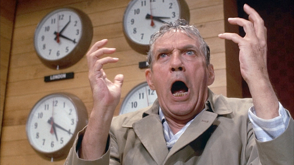 "Peter Finch won an Academy Award as best actor in the 1976 MGM-United Artist movie, ""Network."" The movie is known for Finch's most memorable line: ""I'm mad as hell and I'm not going to take this anymore."""