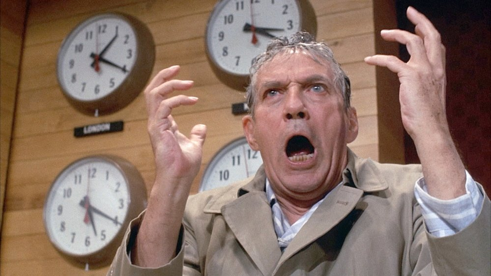 Peter Finch won an Academy Award as best actor in the 1976 MGM-United Artist movie,