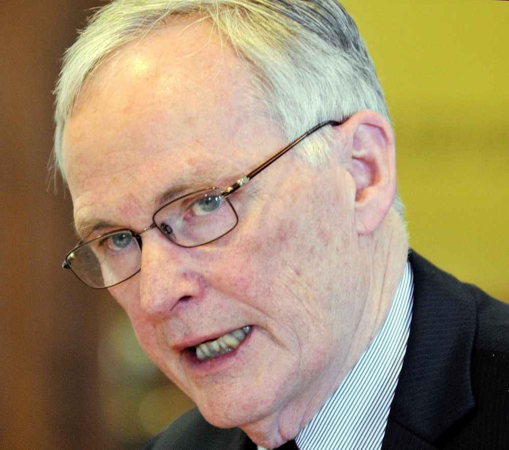 Corrections Commissioner Joseph Ponte, above, would get more flexibility to shape his leadership team under a bill introduced by Rep. Mark Dion, D-Portland.