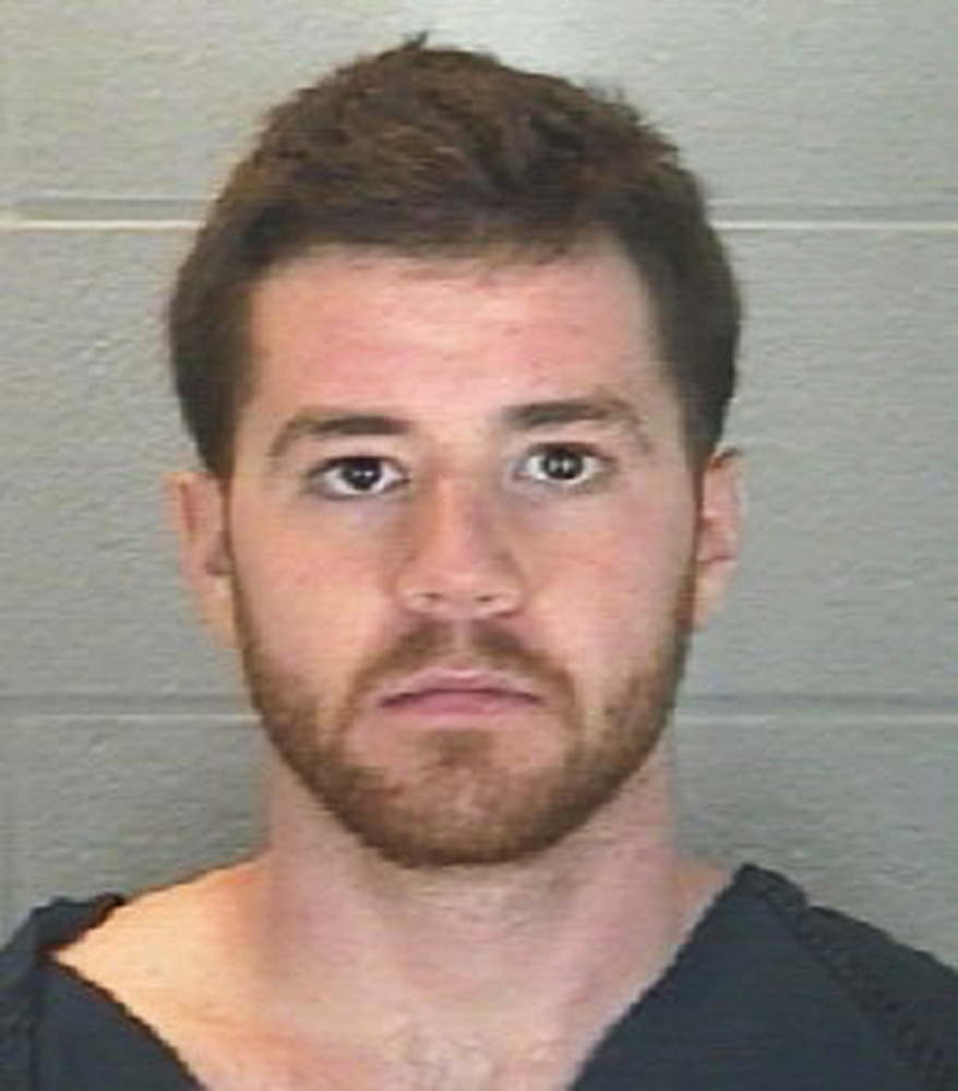 Booking photo provided by the Tippecanoe County Jail shows Cody Cousins, who faces preliminary charges of murder for the shooting death of Andrew Boldt, a 21-year-old Purdue University student from West Bend, Wis., inside the school's Electrical Engineering Building, on Tuesday.