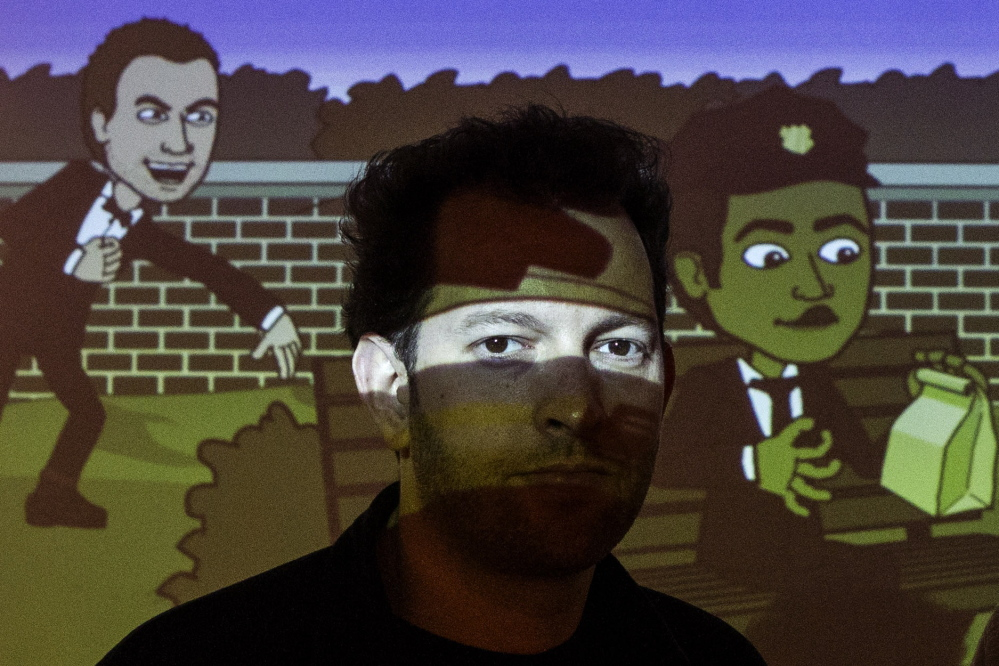 Jacob Blackstock, Bitstrips CEO and creative director, along with his friend Shahan Panth, created the mobile application that helps people turn their lives into comic strips. Google rated Bitstrips the trendiest app of 2013.