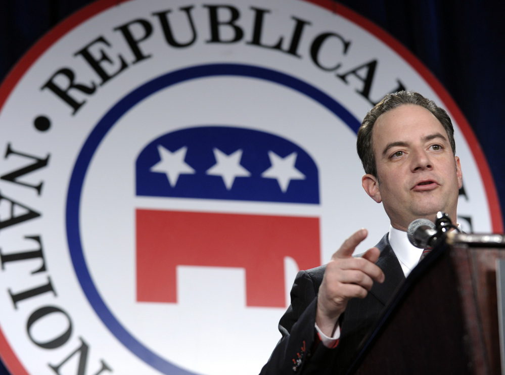 Republican National Committee Chairman Reince Priebus oversees a party that is trying to modernize its appeal while also reaching out to minorities and women.