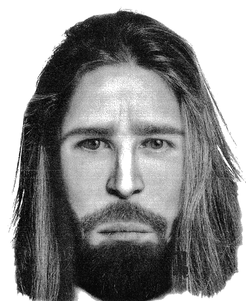 ROBBERY SUSPECT: Composite images of the man who robbed Camden National Bank in Bingham on Jan. 16.