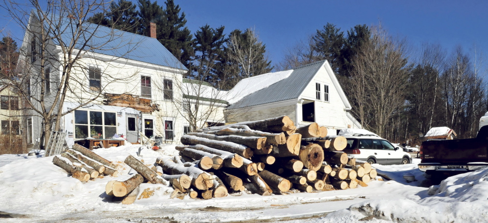 PROPERTY VIOLATION: Duane Pollis's home in Wilton is being fined by the town for violating provisions of a new property maintenance ordinance.
