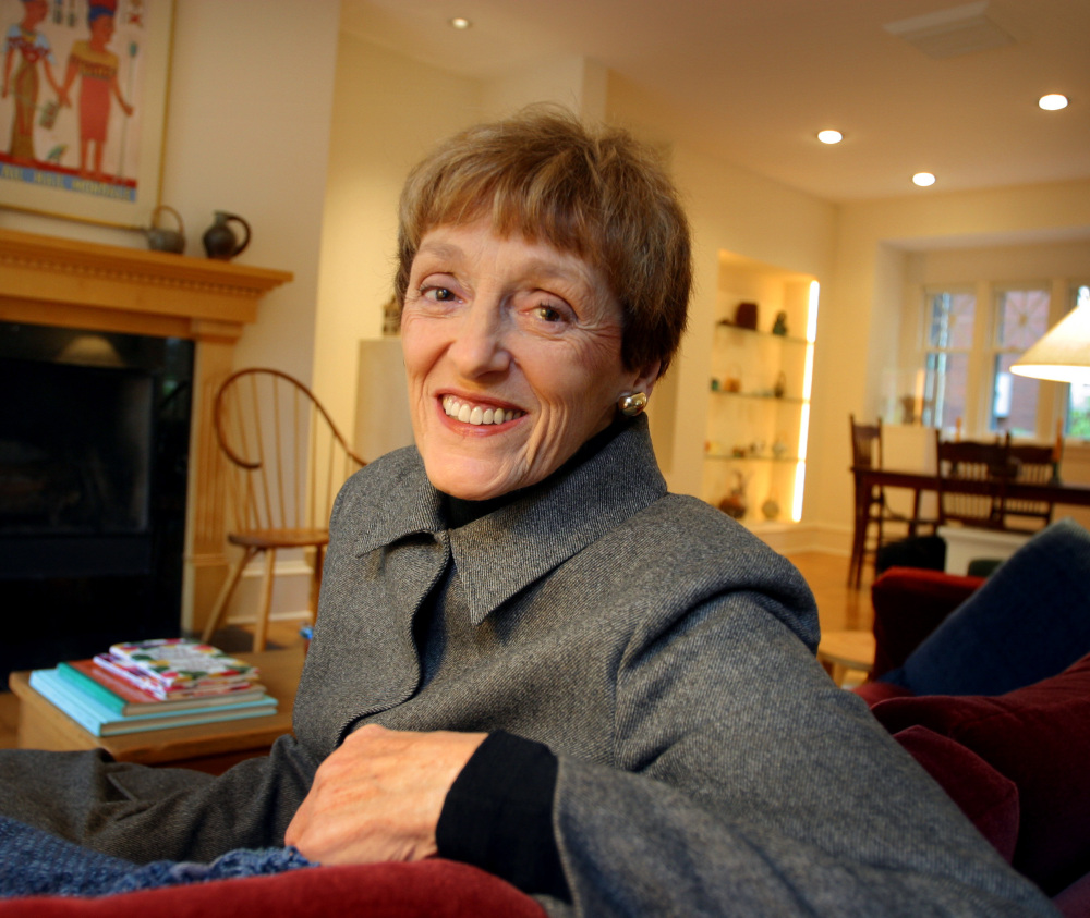 Joan Mondale, shown in 2002 at her home in Minneapolis, advocated passionately for the arts as 'second lady' in the 1970s.
