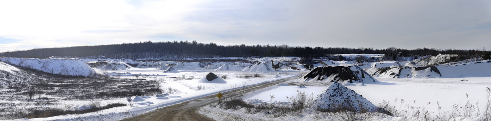 DEVELOPMENT ORDINANCE: Whitefield will consider a six-month moratorium on expanding gravel pits at Town Meeting, spurred by concern over DEP's approval for Crooker and Sons, of Topsham, to dig below the water table at a pit it owns in town.