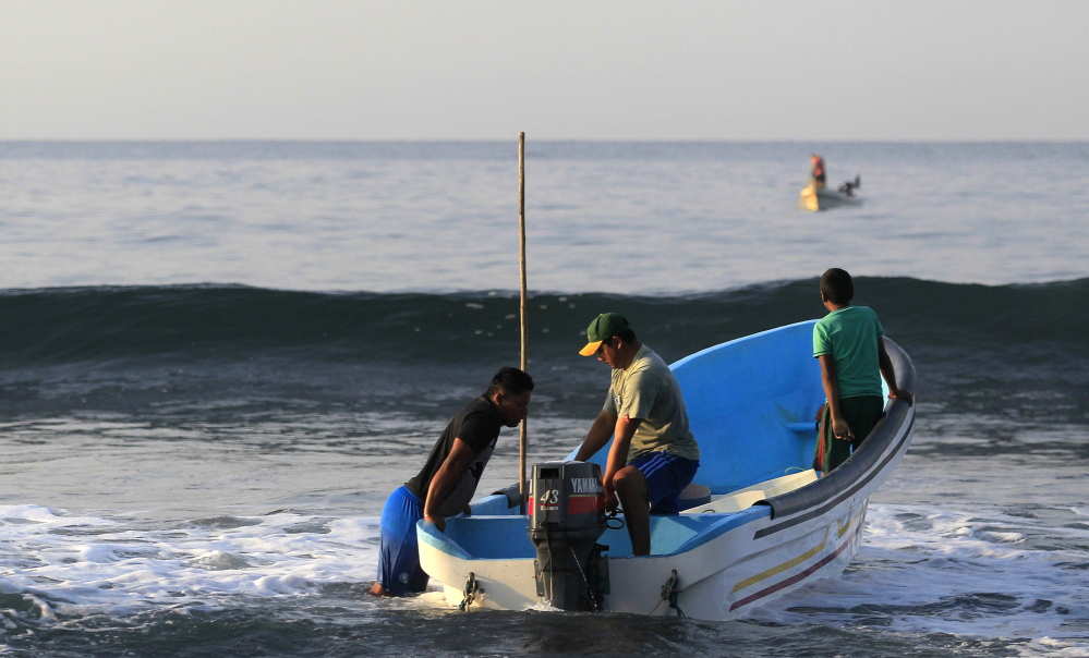 Fishermen set out to sea on Feb. 4 from the fishing town of Ahuachapan in El Salvador, the hometown of fisherman Jose Salvador Alvarenga. The 37-year-old Alvarenga say he drank turtle blood and ate raw fish to survive his ordeal at sea.