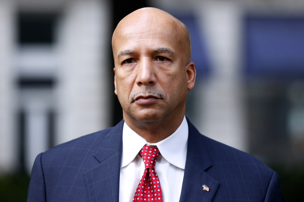 FILE - In this Jan. 27, 2014, file photo, former New Orleans Mayor Ray Nagin arrives at the Hale Boggs Federal Building in New Orleans.