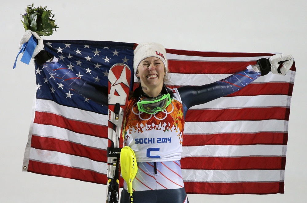 Mikaela Shiffrin made a huge splash in Sochi, winning the women's slalom. Her goal in south Korea in 2018 ... five gold medals.