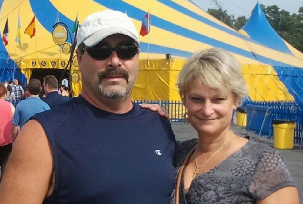 The Maine Warden Service released this photo of Lloyd Blanchard and Wendy Lainez-Blanchard.