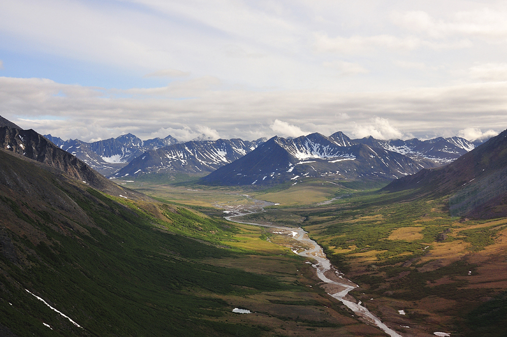 Graphite Creek, a mineral claim being explored by Graphite One Resources, runs along the Kigluaik Mountains north of Nome, Alaska.