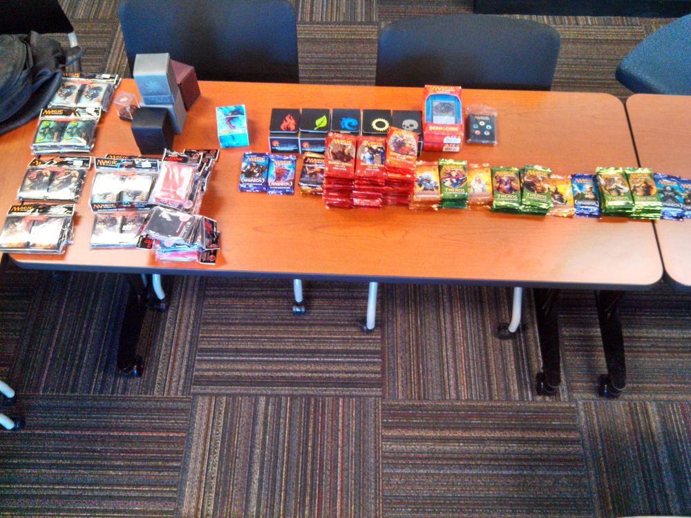 "STOLEN CARDS: Thousands of dollars worth of ""Magic: The Gathering"" game cards were stolen Sunday from Spell Bound, a Waterville store."