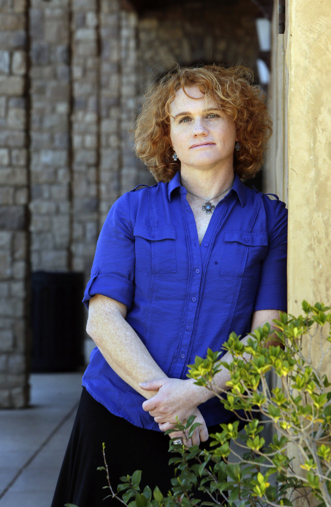 Army Reserve Capt. Sage Fox began taking female hormones and living as a woman after having served in Kuwait as a man.