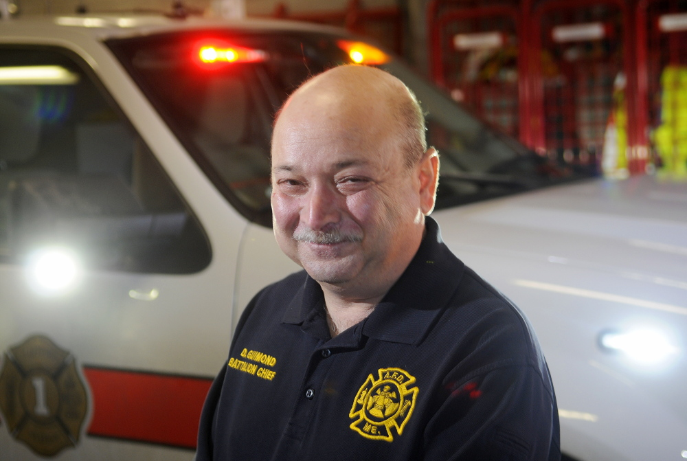 TAKING THE REINS: Former Augusta Fire Department battalion chief Daniel Guimond will fill in as Gardiner's chief until financial concerns about the city's ambulance fund are resolved.