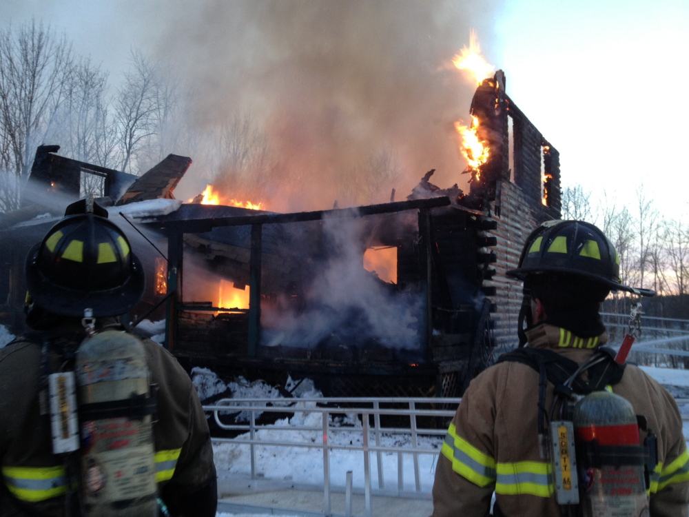 Randolph blaze: A residence off Route 27 in Randolph after 6 pm on Monday. Firefighters from several towns responded to the blaze that injured one person, according to Office of the Fire Marshal Sgt. Joel Davis. The Office is investigating the cause of the blaze that was still burning at 7 pm.