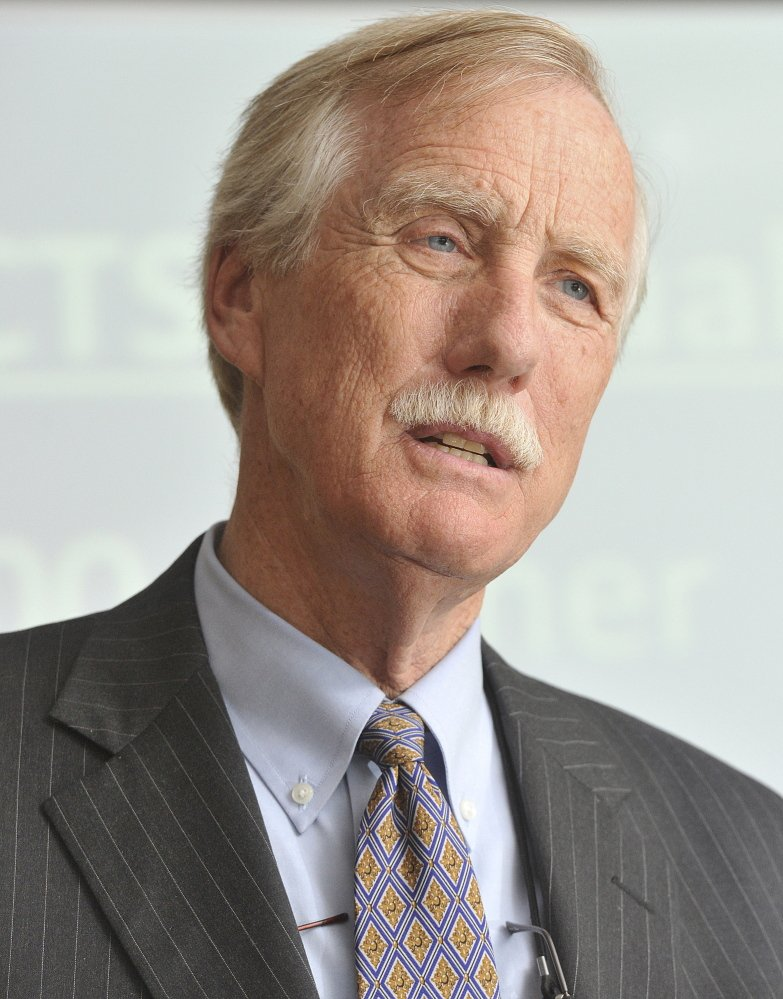U.S. Sen. Angus King, I-Maine