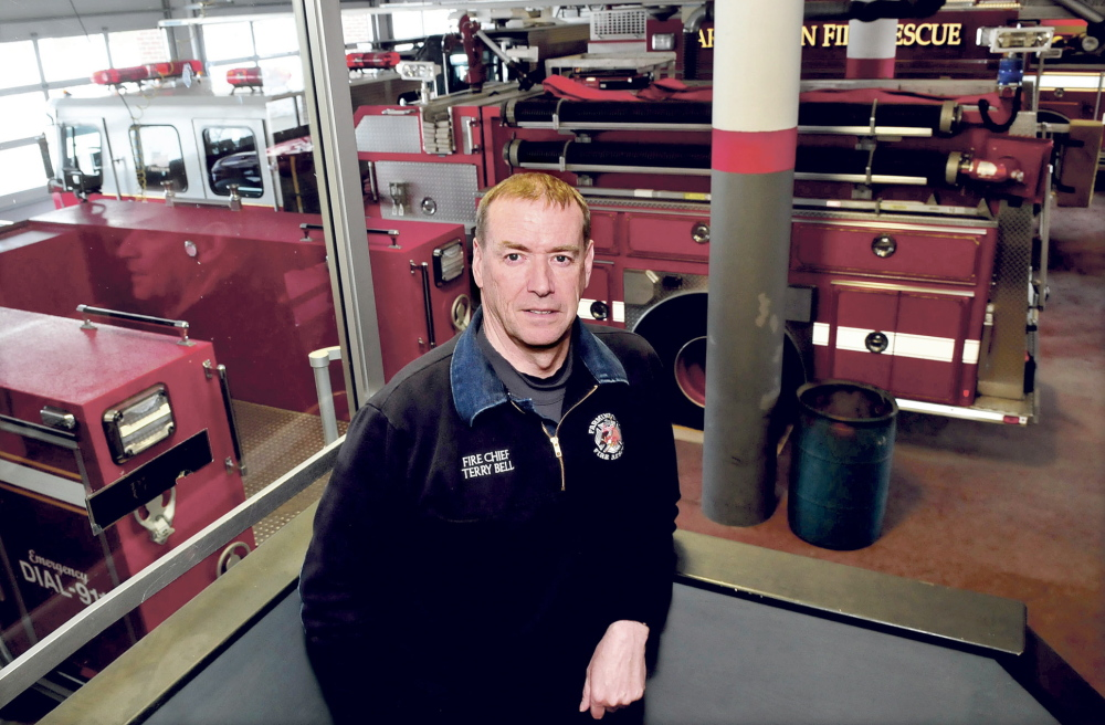 STEP UP: Farmington Fire Chief Terry Bell said the department needs more manpower and is considering exploring a regional firefighting network.