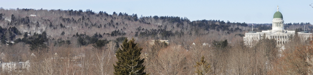 HOWARD HILL: The Kennebec Land Trust plans to raise $1.25 million needed to buy the 164-acre property behind the State House known as Howard Hill to protect it from development.