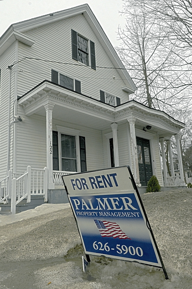 To use or not to use: This property at 122 Brunswick Ave. is at the center of a dispute between the city of Gardiner and local real estate agent Brady Palmer.