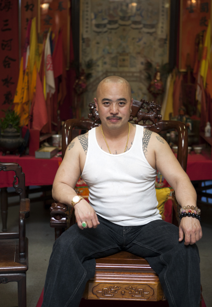 """In this image provided by Jen Siska, Raymond """"Shrimp Boy"""" Chow, poses for a portrait in San Francisco in July 2007. Investigators say Chow is the leader of one of the most powerful Asian gangs in North America."""