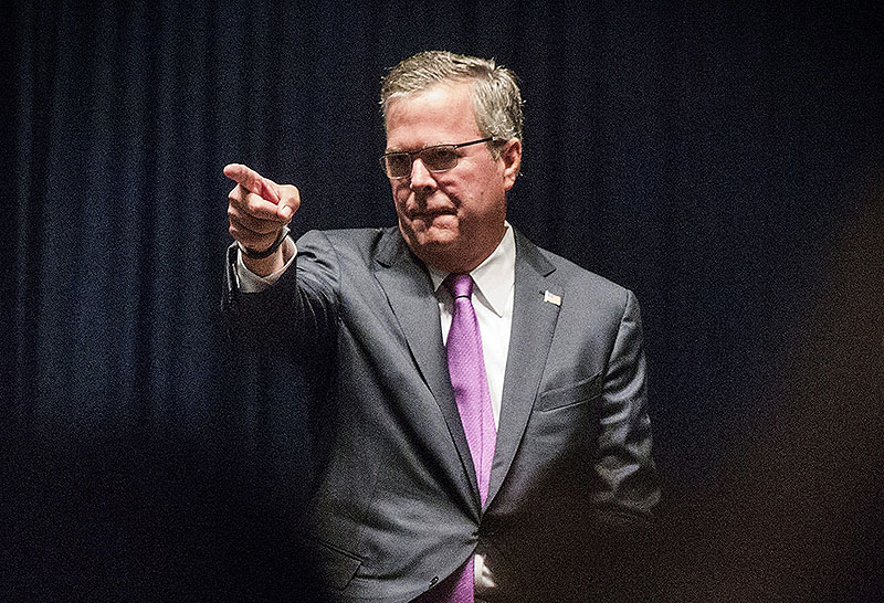 Prominent donors, conservative leaders and longtime operatives say they consider former Florida Gov. Jeb Bush the Republicans' brightest hope to win back the White House.