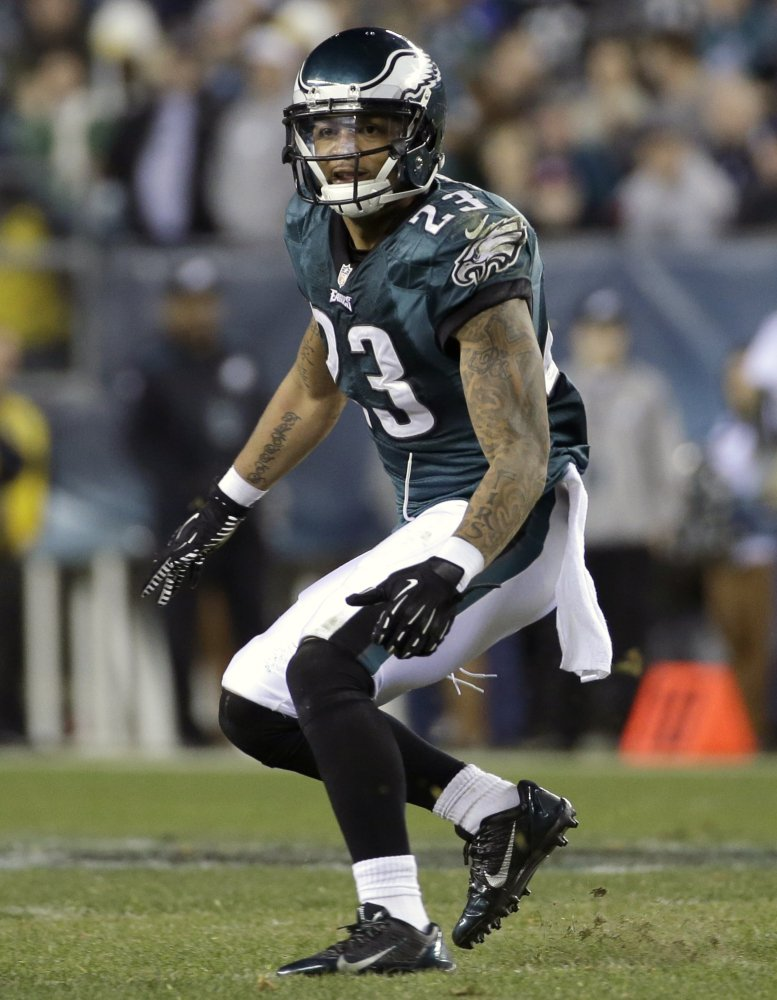 Patrick Chung was released after one season with the Philadelphia Eagles and signed Thursday with the New England Patriots. Chung played his previous four seasons with New England after being drafted in the second round in 2009.