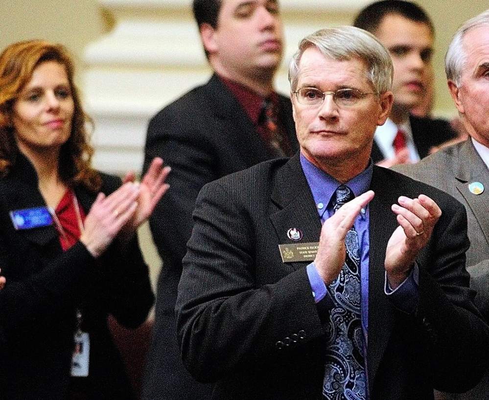 Sen. Patrick Flood played a key role in ensuring waiting lists were funded in the budget, according to Mary Lou Dyer, director for the Maine Association of Community Service Providers.