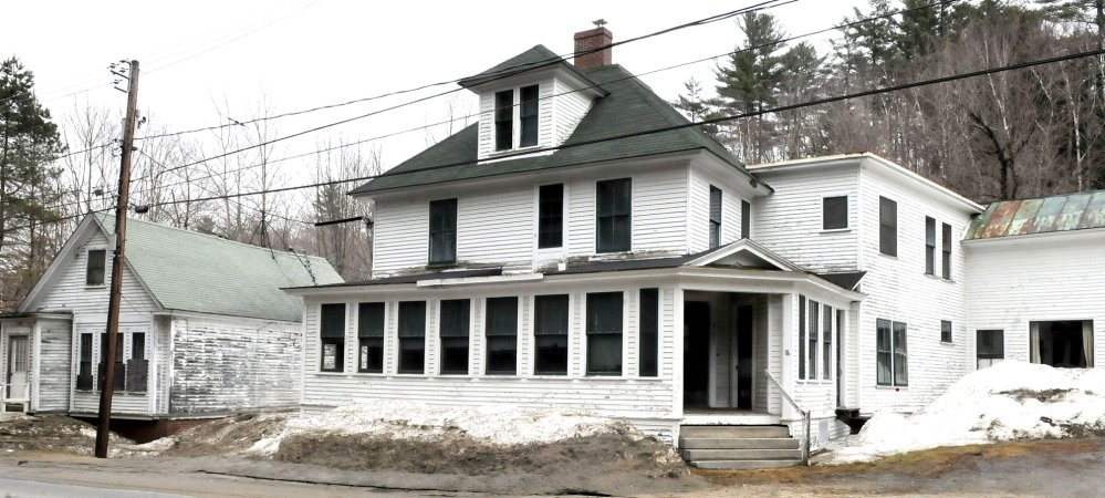 NEW MUSEUM: This building on Main Street in Wilton will be turned into the Western Maine Play Museum.