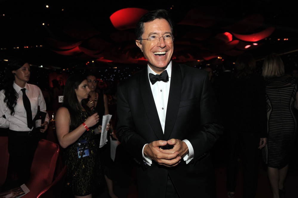 "Stephen Colbert: ""Everyone in late night follows Dave's lead."""