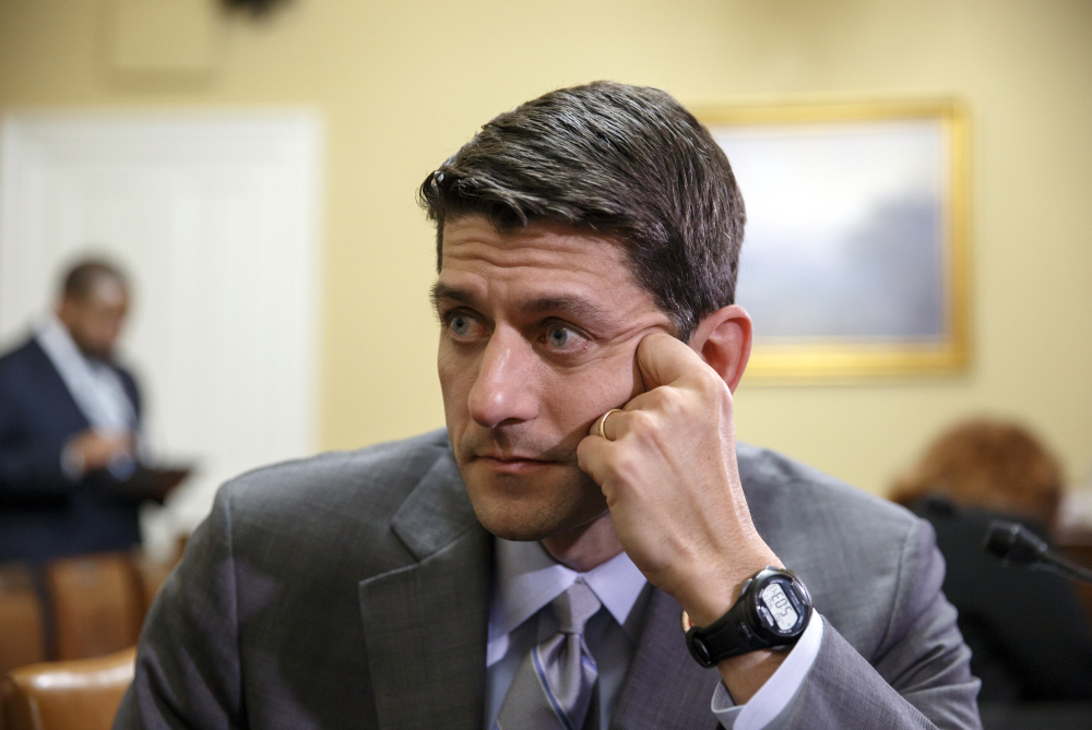 Paul Ryan, R-Wis., proposed a budget blueprint which would cut spending by $5 trillion over the next 10 years.