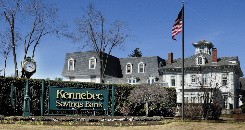 Kennebec Savings Bank headquarters in Augusta.