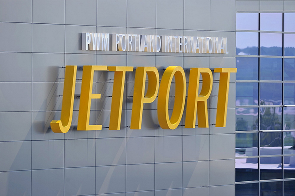 Portland International Jetport Director Paul Bradbury reports increased numbers in passengers for March over the same month last year.