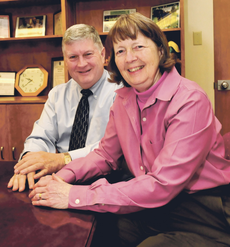 COMMUNITY SUPPORT: John and Jackie Dalton have received the Mid-Maine Chamber of Commerce's Distinguished Community Service award.