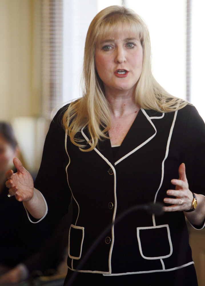 "State Sen. Donna Soucy voted in favor of repealing New Hampshire's death penalty in an ""intensely personal ... and difficult vote."""