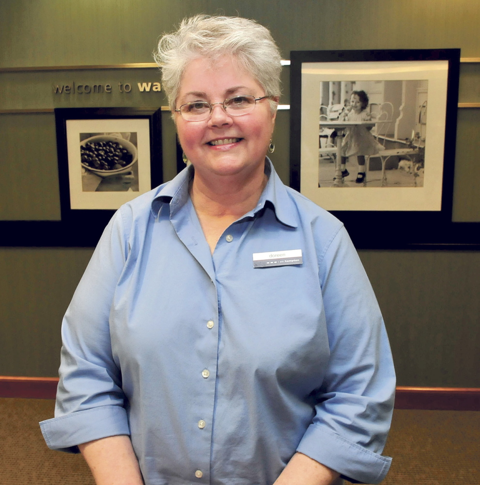 Honored: Doreen Brown has received the Customer Service Stardom award by the Mid-Maine Chamber of Commerce.