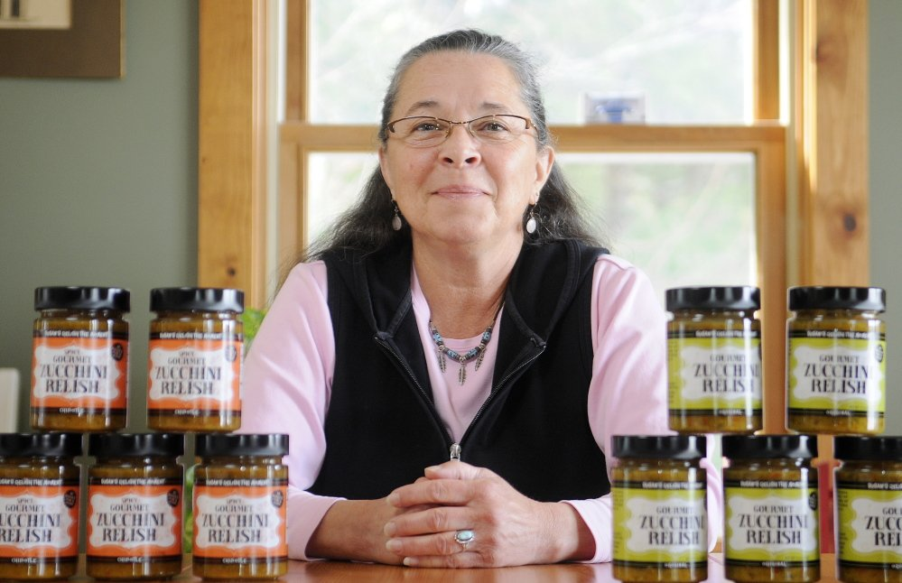 EXPANDING: Susan Parker of Winthrop, the owner of Susan's Relish the Moment, has received support for all areas of business from marketing to taxes from the Coastal Enterprise Institute's Women's Business Center. Central and western Maine counseler Betty Gensel now is helping her write a business plan to help grow her business.