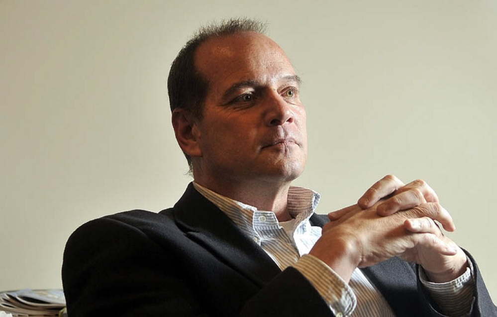REAL ESTATE DEAL: Brad Jackson, director of FirstPark at his office in Oakland in 2013.