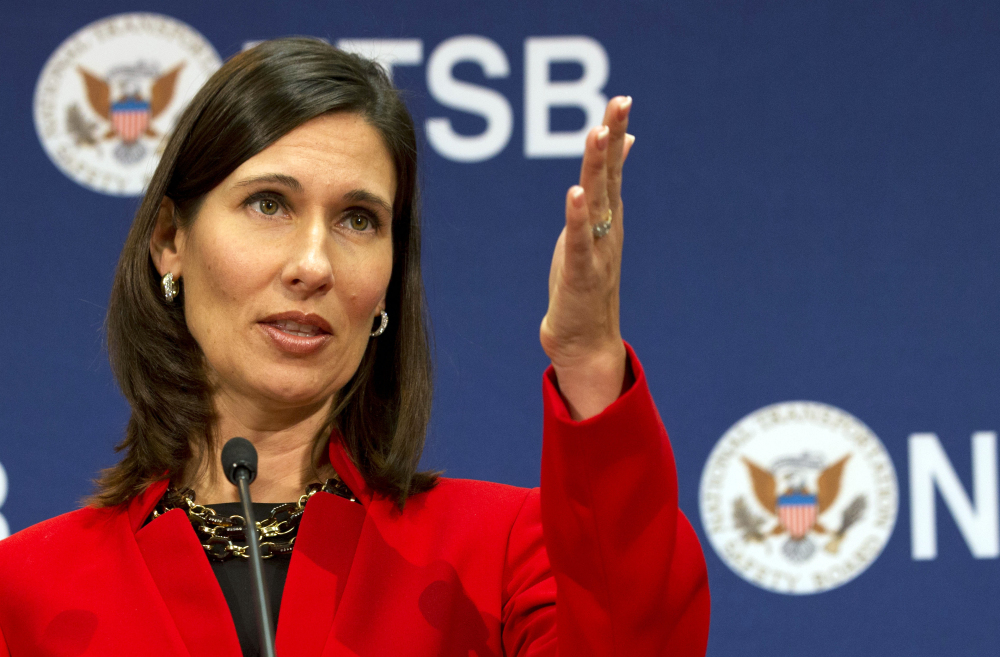 """National Transportation Safety Board Chair Deborah Hersman says """"a referee"""" is needed to bring all parties to a consensus about improving rail car safety."""