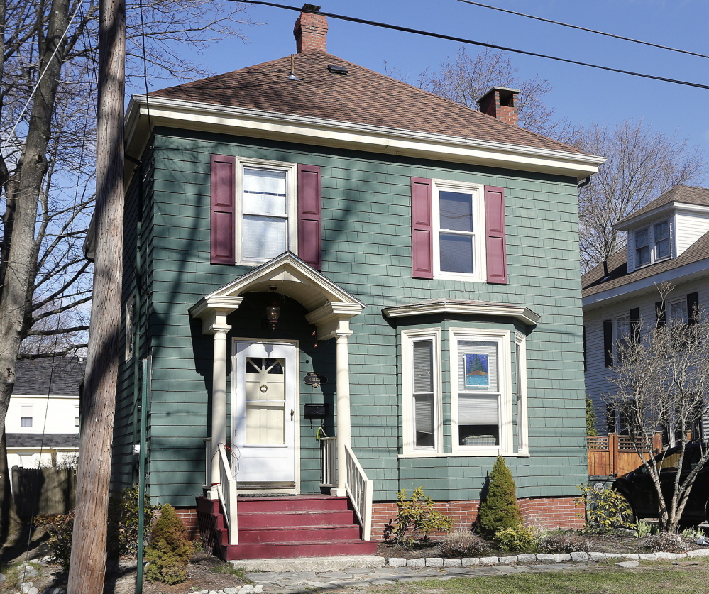 Police say the Gilligan house on Sargent Street, Westbrook, was the scene of a party Tuesday night. Two 18-year-olds, left, were arrested and nine other teens were issued summonses in connection with underage drinking, police said.