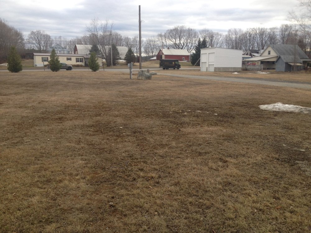 market plan: A town-owned lot on High Street near the intersection with Route 2 — once the site of the town garage — is now being proposed for use as a flea market by a Farmington woman.