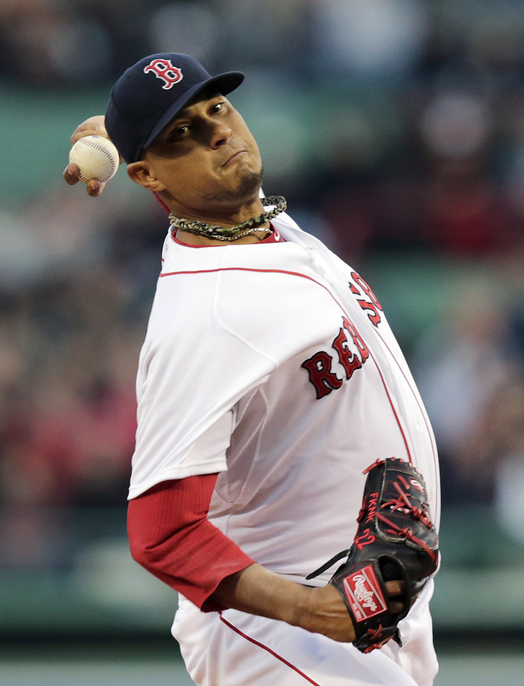 Starter Felix Doubront falls to 1-3 on the young season, but it wasn't all his fault as Boston's fielding left much to be desired.
